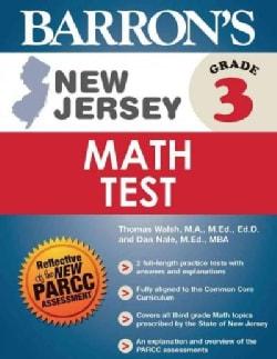 Barron's New Jersey, Grade 3 Math Test (Paperback)
