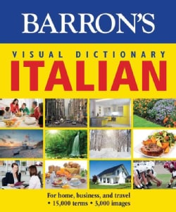 Barron's Visual Dictionary Italian: For Home, Business, and Travel (Paperback)