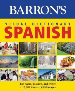 Barron's Visual Dictionary Spanish (Paperback)