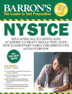 Barron's NYSTCE: EAS, ALST, Multi-Subject CST, Overview of the edTPA (Paperback)