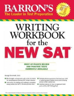 Barron's Writing Workbook for the New SAT (Paperback)