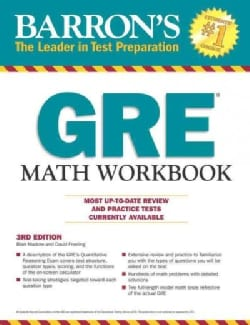 Barron's GRE Math Workbook (Paperback)