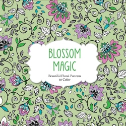 Blossom Magic: Beautiful Floral Patterns to Color (Paperback)