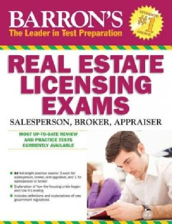 Barron's Real Estate Licensing Exams: Salesperson, Broker, Appraiser (Paperback)