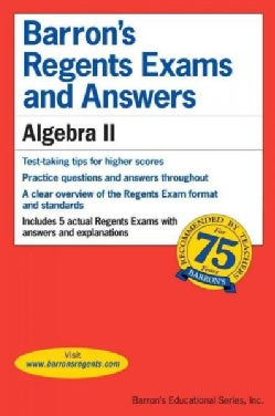 Barron's Regents Exams and Answers Algebra II (Paperback)