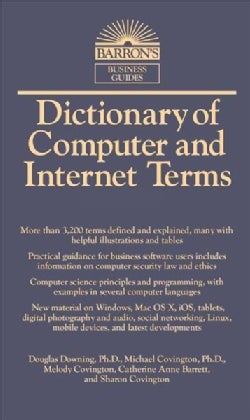 Dictionary of Computer and Internet Terms (Paperback)
