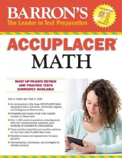 Barron's Accuplacer Math (Paperback)