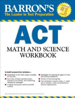 Barron's Act Math and Science Workbook (Paperback)