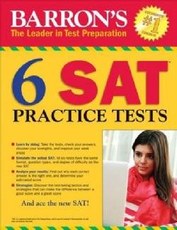 Barron's 6 Sat Practice Tests (Paperback)