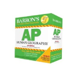 Barron's AP Human Geography Flash Cards (Cards)