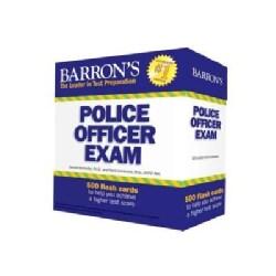 Barron's Police Officer Exam Flash Cards (Cards)