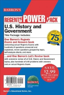 U.s. History and Government Power Pack (Paperback)