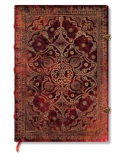 Carmine Ultra Lined Journal (Notebook / blank book)