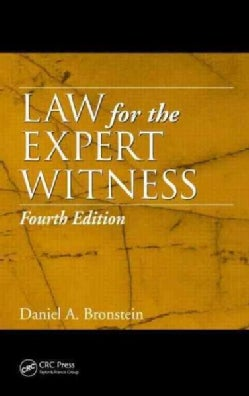 Law for the Expert Witness (Hardcover)