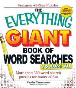 The Everything Giant Book of Word Searches: More Than 300 Word Search Puzzles for Hours of Fun (Paperback)