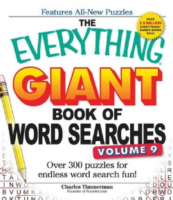 The Everything Giant Book of Word Searches: Over 300 puzzles for endless word search fun! (Paperback)