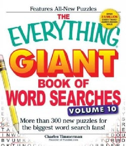 The Everything Giant Book of Word Searches: More Than 300 New Puzzles for the Biggest Word Search Fans! (Paperback)