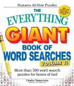 The Everything Giant Book of Word Searches: More Than 300 Word Search Puzzles for Hours of Fun! (Paperback)