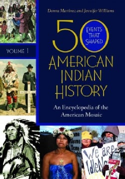 50 Events That Shaped American Indian History: An Encyclopedia of the American Mosaic (Hardcover)