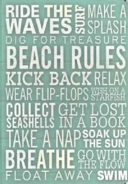 Beach Rules Journal (Notebook / blank book)