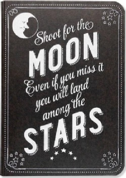 Shoot for the Moon Journal (Notebook / blank book)