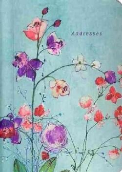 Fuchsia Blooms Address Book (Address book)