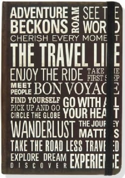 Travel Life Journal (Notebook / blank book)