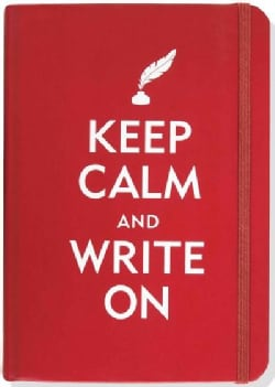 Keep Calm and Write on (Notebook / blank book)
