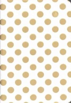 Gold Dots Journal (Notebook / blank book)