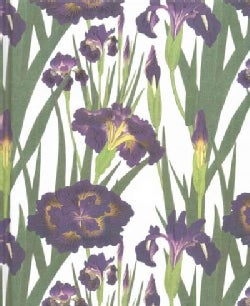 Purple Irises Journal (Notebook / blank book)