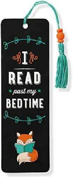 I Read Past My Bedtime Beaded Bookmark (Bookmark)