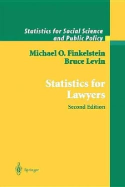 Statistics for Lawyers (Paperback)