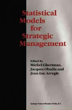 Statistical Models for Strategic Management (Paperback)