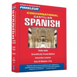 Pimsleur Conversational Castilian Spanish (CD-Audio)