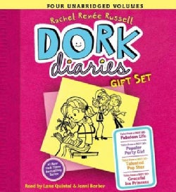 Dork Diaries Gift Set: Tales from a Not-So-Fabulous Life / Tales from a Not-So-Popular Party Girl / Tales from a N... (CD-Audio)