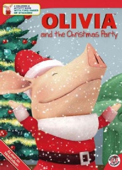 Olivia and the Christmas Party (Paperback)