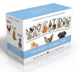 Van Fleet Animal Trio: Moo / Cat / Dog (Hardcover)