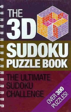 The 3D Sudoku Puzzle Book (Paperback)