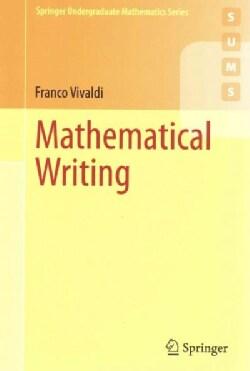 Mathematical Writing (Paperback)