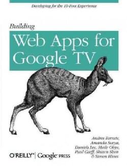 Building Web Apps for Google TV (Paperback)