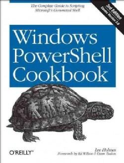 Windows PowerShell Cookbook (Paperback)