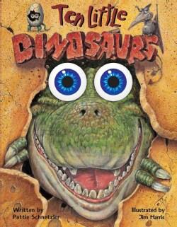 Ten Little Dinosaurs (Board book)