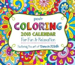 Posh - Coloring 2018 Calendar: For Fun & Relaxation (Calendar)