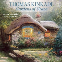Thomas Kinkade Gardens of Grace with Scripture 2018 Calendar (Calendar)