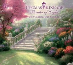 Thomas Kinkade Painter of Light 2018 Calendar With Scripture (Calendar)