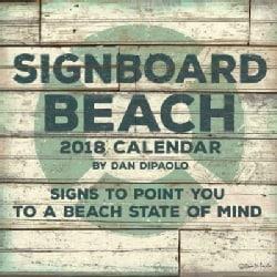 Signboard Beach 2018 Calendar (Calendar)