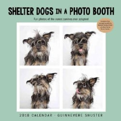 Shelter Dogs in a Photo Booth 2018 Calendar (Calendar)