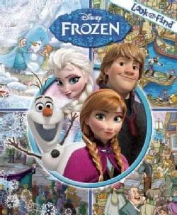 Disney Frozen Look and Find (Hardcover)