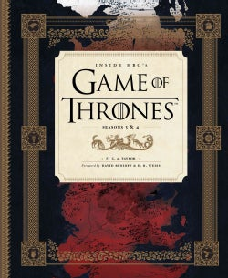 Inside HBO's Game of Thrones: Season 3 and 4 (Hardcover)