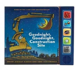 Goodnight, Goodnight Construction Site Sound Book (Hardcover)